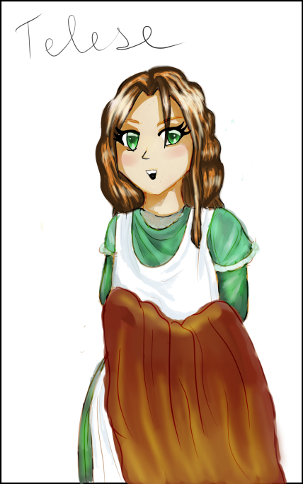 Character Design: Telese, age 17